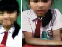 Miris, Siswi Kelas 1 SD Ini Sudah Kecanduan Sex  Tiga