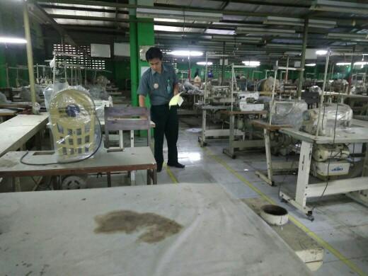 Ngemplang Pinjaman Rp 45 Miliar 807 Mesin Jahit Di Pabrik Garmen