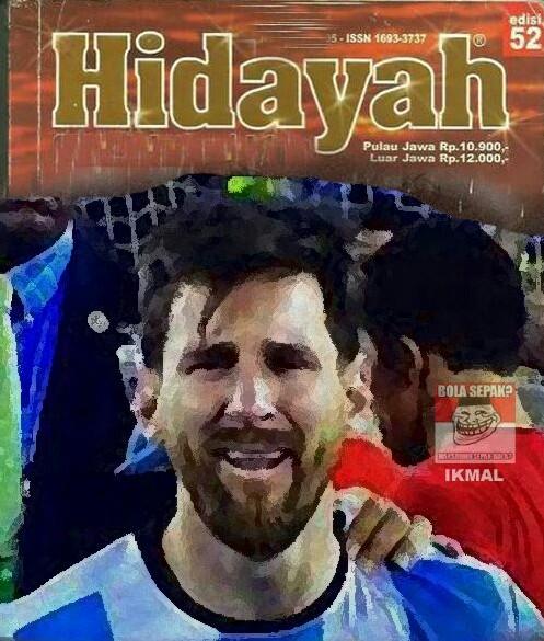 Meme Lucu Hidayah 40 Meme Sadis Sindir Penampilan Buruk Messi Di 40 Laga Piala Dunia 1731