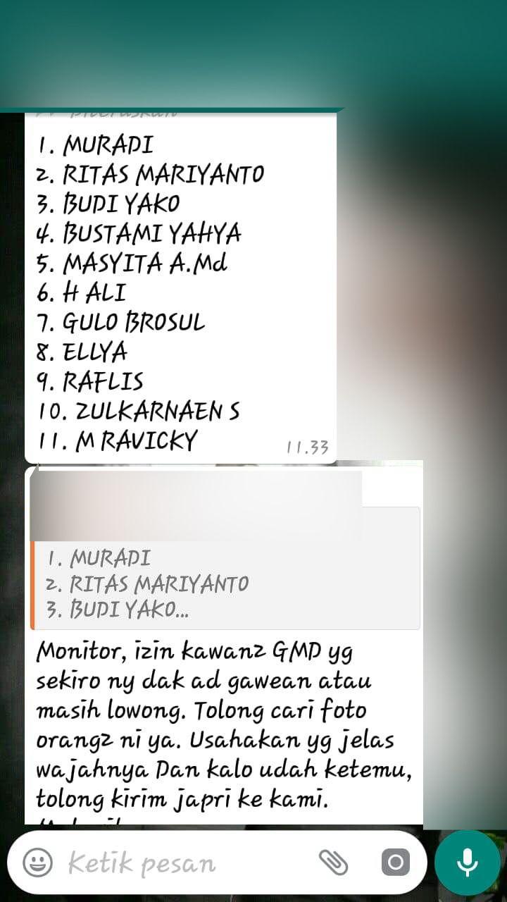 daftar caleg Gerindra