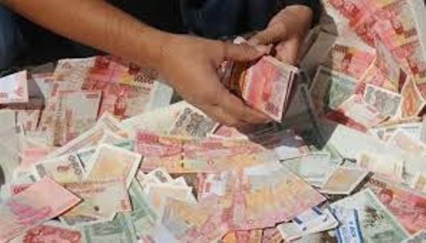 uang sitaan