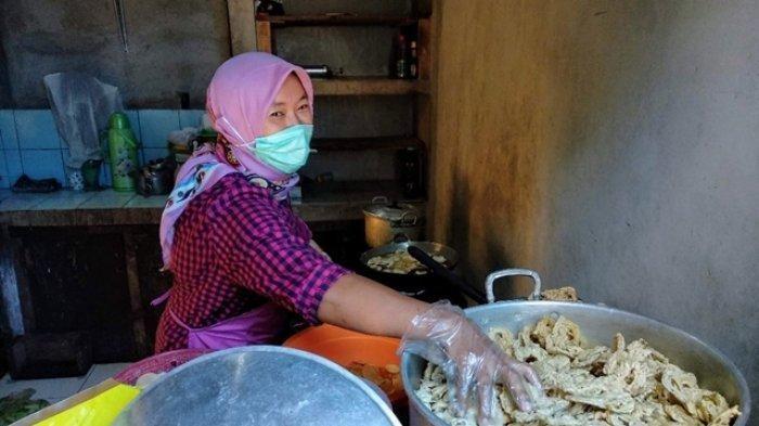 proses pembuatan keripik sayuran