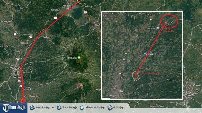 Jalur Tol Bawen Yogyakarta.