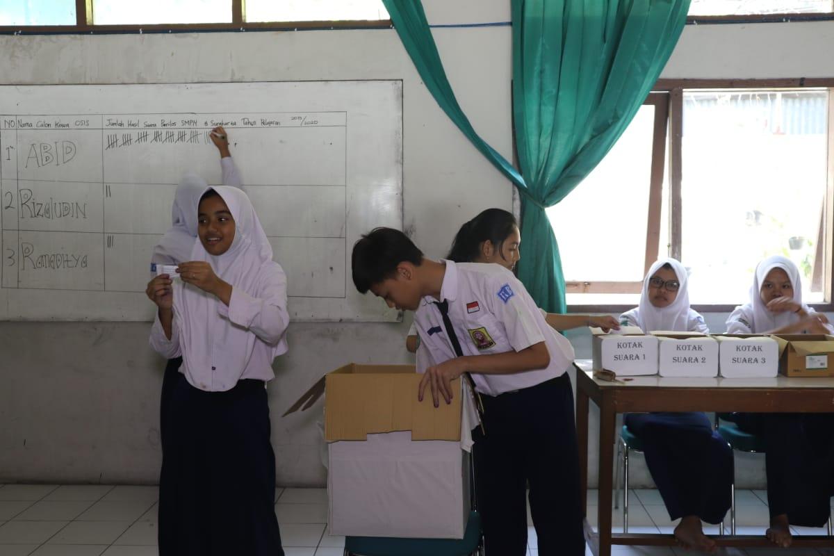 Smp Negeri 8 Surakarta Gelar Pemilihan Ketua Osis