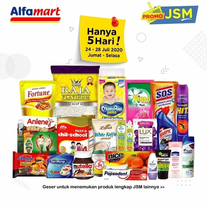Info Diskon Alfamart Promo Jsm 24 28 Juli 2020 Khusus Pekan Ini Berlaku 5 Hari Joglosemar News