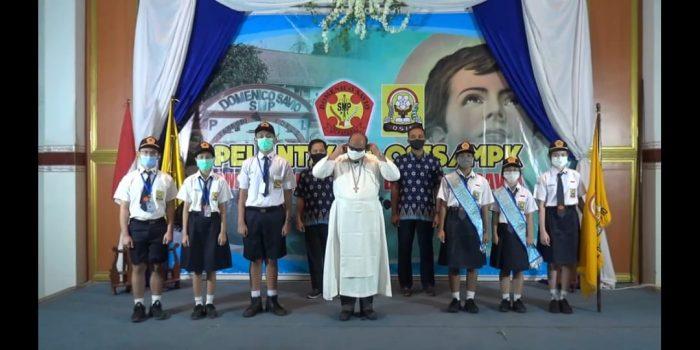 pelantikan OSIS Domsav 1