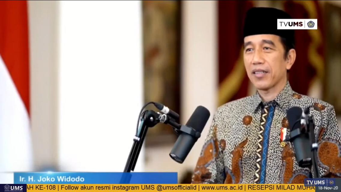 Jokowi UMS