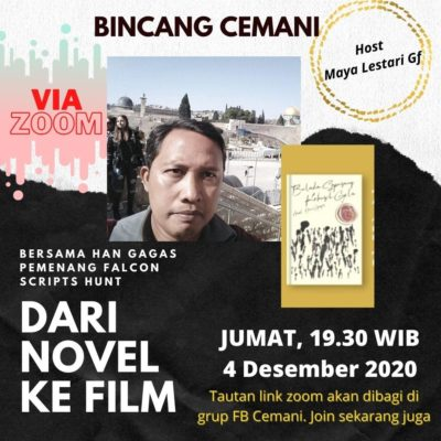 Novel Balada Sepasang Kekasih Gila Karya Han Gagas Lolos Seleksi Kompetisi Falcon Script Hunt 2020