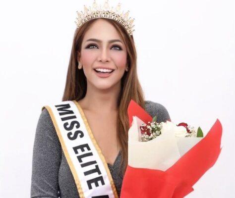 KEREN! Anna Silvia, Gadis Cantik Asal Serengan Solo Juara Miss Elite Asia 2021