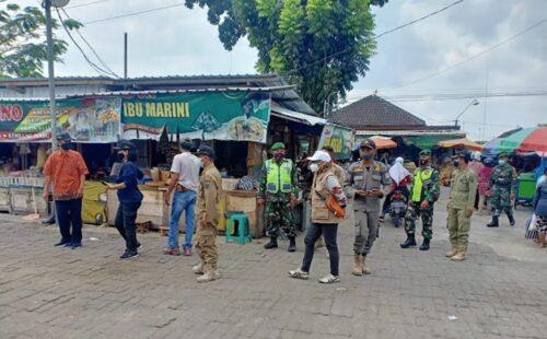 Patroli PPKM Level 4, Tim Gabungan Sasar Sektor Esensial dan Non Esensial di Klaten