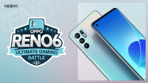 Pamerkan Fitur Gaming di Reno6, OPPO Tantang Pengguna Tanding Lawan Tim E-Sport Profesional
