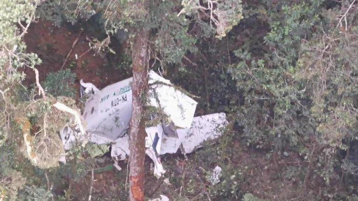 Laka Pesawat Rimbun Air di Papua, 3 Awak  Akhirnya Ditemukan  Dalam Kondisi Tewas