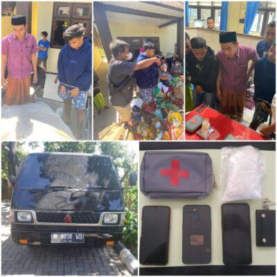 Polda Jateng Tangkap 3 Sindikat Narkoba Internasional. Dua Orang Kakak Beradik Bawa 342 Gram Sabu dari Malaysia