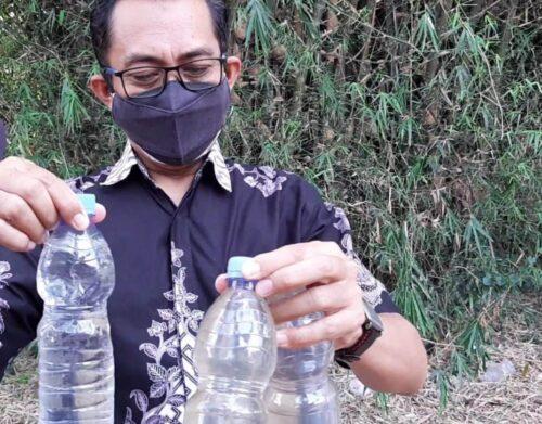 Kasus Pencemaran Limbah Bengawan Solo, Polisi Amankan Seorang Wanita Pengusaha Ciu Rumahan