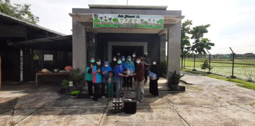 Mahasiswa UMS Ciptakan Ecobrick Atasi Limbah Plastik